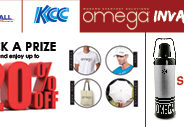 Take Home a Brand New Omega Vacuum Flask at the Omega Invasion!