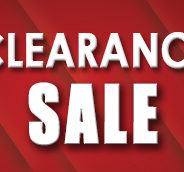 Our BIGGEST Clearance Sale is Back!
