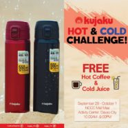 Kujaku HOT and COLD Challenge at NCCC Maa Davao!