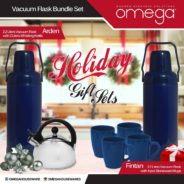 Vacuum Flask Holiday Gift Set