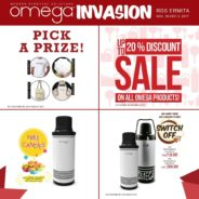 Omega Invasion at Robinsons Department Store Ermita!