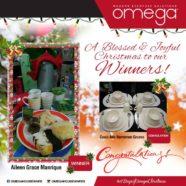 Congratulations to our Christmas Giveaway Winners!