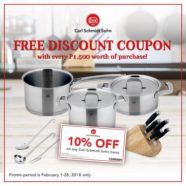 FREE Discount Coupon with Carl Schmidt Sohn!