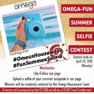 Omega-Fun Summer Selfie Contest!