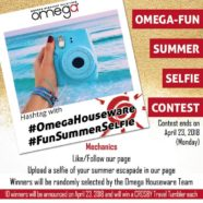 Omega-Fun Summer Selfie Contest!