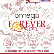Omega Invasion at Robinsons Department Store Malolos!