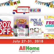 Check Out the Omega Invasion in All Home Sta. Rosa Laguna!